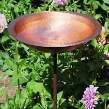 Solid Copper Bird Bath With Stake by Achla Design