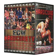 ECW Hardcore TV Volume 4 Complete 10 DVD Set, Wrestling Rob Van Dam  Raven Sabu