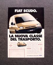 [GCG] L298- Advertising Pubblicità -1998- FIAT SCUDO , LA NUOVA CLASSE