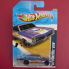 BLUE '67 Pontiac GTO. HW Racing '12 173/247.  New in Blister Pack!