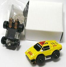 1990 Galoob Micro Machines 1/87th LEMON Lamborghini Slot Car Unused Mint in Box!