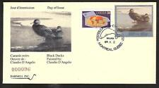CANADA QUEBEC PROVINCE # QW2 WILDLIFE CONSERVATION 1989 FIRST DAY COVER (1)