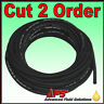 Cotton Over Braided Rubber Petrol Fuel Line Diesel Oil Tubing Hose Pipe Tube DIN