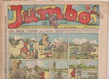 JUMBO 1938 n°35 - Jim Alaska, Cendrillon...