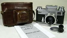 Kiev 3+Jupiter-12  2.8/35mm Ukrainian Zeiss Ikon Contax III+manual+Rare 1955 !