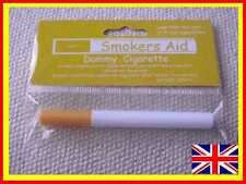 6 x Fake / Dummy smoke free CIGARETTE STOP/QUIT SMOKING AID - smokeless