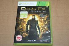 XBOX 360 GIOCO CD DEUS EX HUMAN REVOLUTION Limited Edition PAL SPEDIZIONE GRATUITA