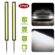 2X COB LED Waterproof Daytime Running Lights Car Fog 12V Car Driving DRL Lamp