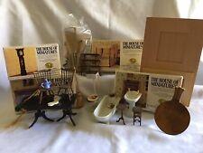 Vintage Dollhouse Furniture And Accessories, Kits, TLC, Bathroom