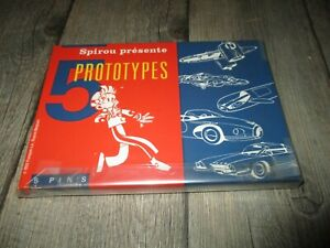 Spirou&Franquin-Coffret collector-Les pin s prototypes(EO 1500 ex.)1992