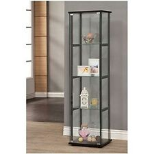 Coaster Home Furnishings 950171II Curio Cabinet Black-950171 NEW