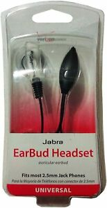 Verizon Wireless Universal Earbud Headset 2.5 mm Jack Phones - New