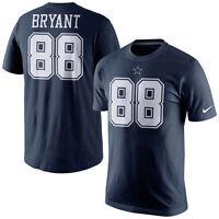 NFL Dallas Cowboys Dez Bryant #88 Men's Navy Name & Number T-Shirt, X-Large