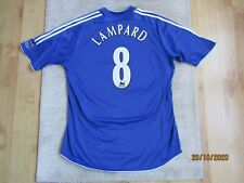 CHELSEA 2006/2007/2008 HOME FOOTBALL SHIRT JERSEY LAMPARD #8 Adidas soccer triko