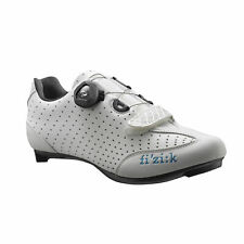 FIZIK R3 Donna Women Carbon Cycling Road Shoe Shoes Boa White Red Italy 37 38 39