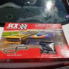 SCX Compact Slot Racing Classics Track 1:43 High Speed AAR Cuda Race Cars