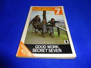SECRET SEVEN - GOOD WORK SECRET SEVEN - BOOK 6 BY ENID BLYTON (SMALL PB BOOK)!