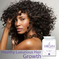 VIRGIN FOR WOMEN HAIR LOSS PILLS TABLET GET LONG HAIR STOPS BALDING & THINNING