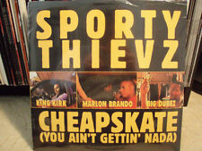 "SPORTY THIEVZ - CHEAPSKATE (12"")  1998!!!  RARE!!!  ♫"