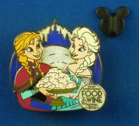Anna & Elsa Frozen Epcot Food & Wine Festival 2016 LE OC Disney Pin #117911