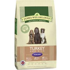 James Wellbeloved Senior Turkey & Rice Hypoallergenic Gluten Free Dog Food 7.5kg