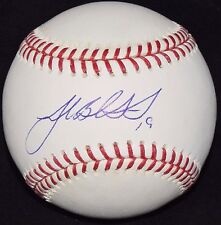 JOSH BECKETT AUTOGRAPHED SIGNED BASEBALL RED SOX DODGERS MARLINS INSCRIBED #19