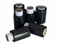 1x Roll MINI 100mm x 150m BLACK Hand Pallet Cling Stretch Wrap Shrink Film!