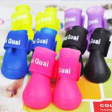 Waterproof Pet Dog Shoes 4Pcs/set Colorful Sport Shoe Lovely Portable Rain Boots
