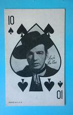 Lash La Rue- Western Vintage 1950's Exhibit, Marketing, Penny Card