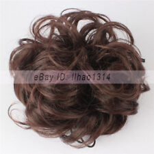 3-7 Days Delivery Short Scrunchies Messy Curly Updos Hair Buns Hair Extensions