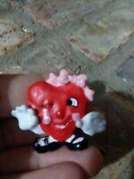 Vintage Valentine Heart Pin. Fun Love