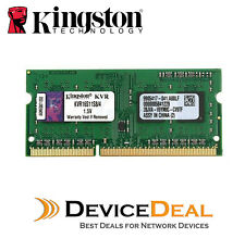 Kingston KVR16S11S8/4 4GB RAM 1600MHz DDR3 Non-ECC CL11 SODIMM For Laptop