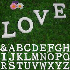 1x Große 26 Holzbuchstaben Wandbehang Nursery Partei Hochzeitsdeko STDE