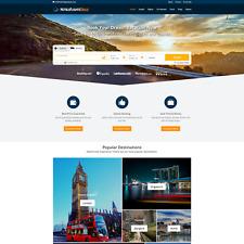 PREMIUM Travel Affiliate Website - Hotels & Flights Search - Free Hosting