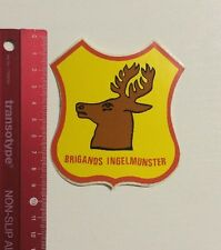 Aufkleber/Sticker: Brigands Ingelmunster (06031691)