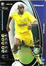 FOOTBALL CHAMPIONS 2001-02 Eriberto Chievo Verona PROMO Autograph