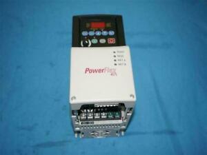 Allen Bradley 22B-D1P4N104 22BD1P4N104 PowerFlex40 Drive w/ Breakage