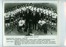 1971-72 HERSHEY BEARS AHL ORIGINAL TEAM ISSUE 8x10 HOCKEY PHOTOGRAPH / PHOTO