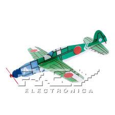 Avión Planeador Republic P-47 Thunderbolt Juguete Corcho Mod5 Colección j46