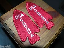 US Canada Army military patches *set cloth