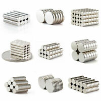 Neodymium Magnets Super Strong Rare Earth Round Magnets Cylinder Disc Grade N50