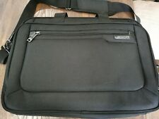 "Samsonite Classic Business Cases, 17"" Laptop Briefcase in Black Preowned"