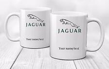 Personalised JAGUAR Logo Mug Cup Gift Coffee Tea Cars - Ceramic 320ml