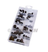 80pc Woodruff Key Assortment - Sizes 3mm up to 6mm