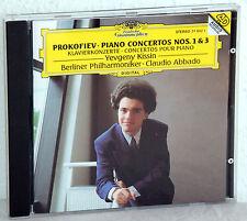 CD PROKOFIEV Piano Concertos nos.1&3 - YEVGENY KISSIN, Piano - Claudio Abbado