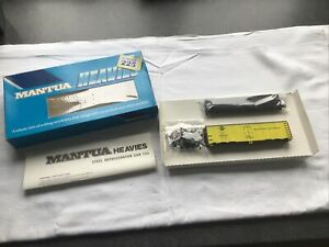 Boxed Unconstructed Kit Mantua H0/00 833-065 IC Steel Refrigerator Car #733 (225