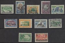 LIBERIA  # O/116-O/126  Used  OFFICIALS