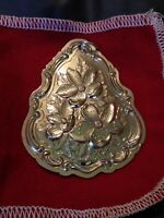 """1983 Towle Sterling Silver Flowers of Christmas / Christmas Rose Ornament 2 1/2"""""""