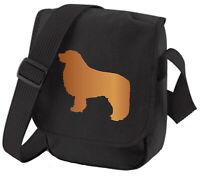 Leonberger Bag Dog Silhouette Dog Walkers Bag Shoulder Bags Birthday Mothers Day