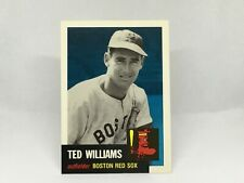 1991 Topps Archives '53 #319 Ted Williams Boston Red Sox